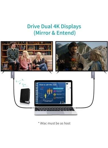 Choetech Choetech Type C to 4K@60Hz HDMI 60W PD Görüntü ve Şarj Kablosu 1.8 Metre XCH-M180 Renkli